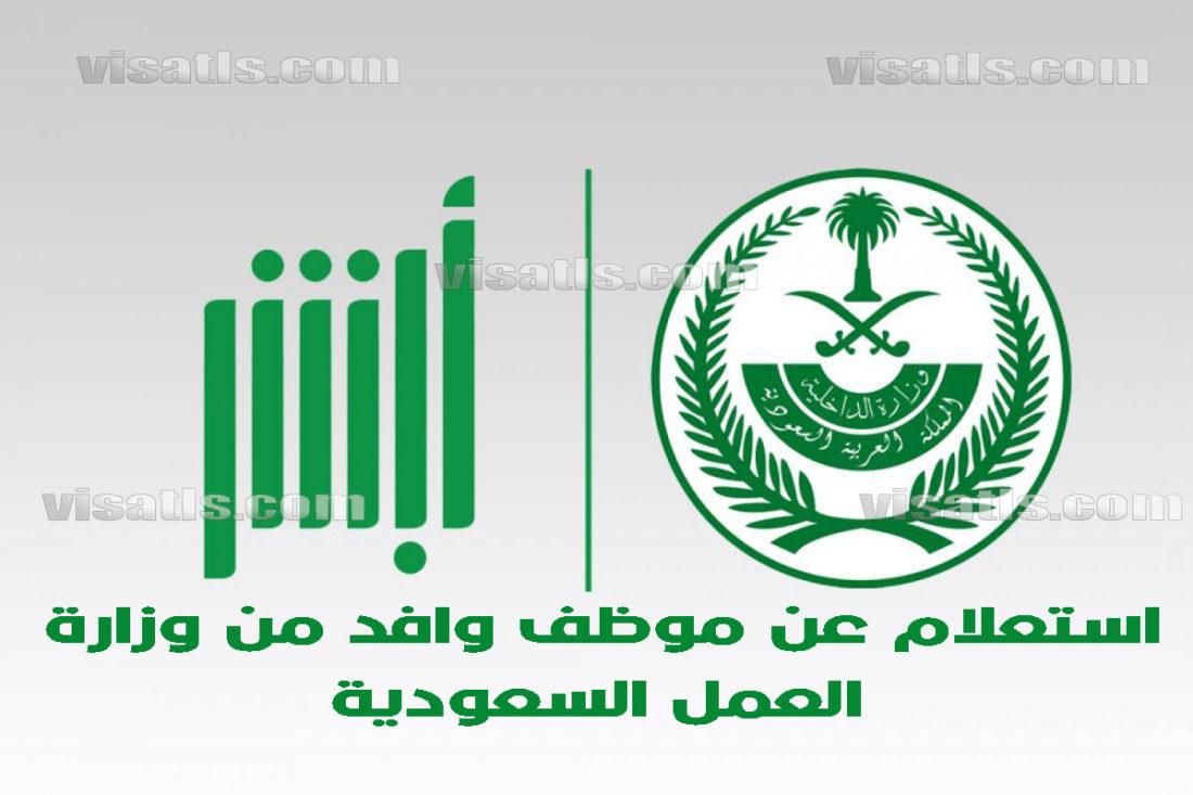 استعلام وزارة العمل السعودية و الاستعلام عن موظف وافد فيزا تلس
